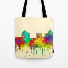 Greenboro North Carolina Skyline - SG Tote Bag