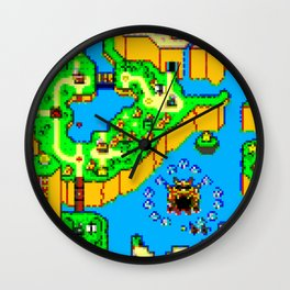 Mario World '84 Wall Clock