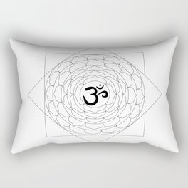 Sahasrara Rectangular Pillow