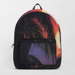 Los Arcos sunset Backpack