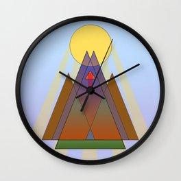 To the Sun Wall Clock