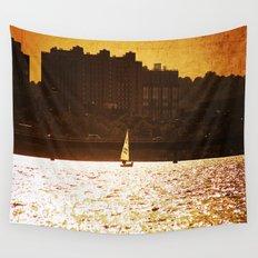 City Backdrop Wall Tapestry