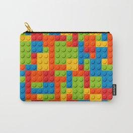 Bricks geometric pattern Carry-All Pouch