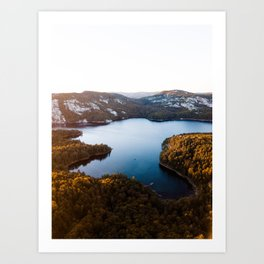 La Cloche Mountains, Ontario Art Print