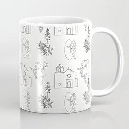 Dwellings of Goliad Coffee Mug
