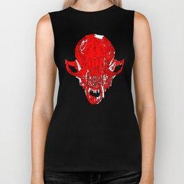 Fox Skull Biker Tank