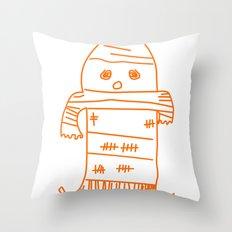 Blankie Monster Throw Pillow