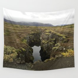 Tectonic Plates Wall Tapestry