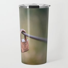Love Lock // San Francisco, California Travel Mug