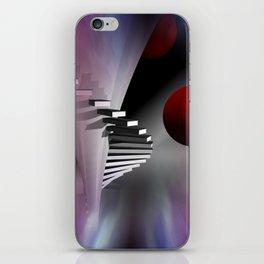 go upstairs iPhone Skin