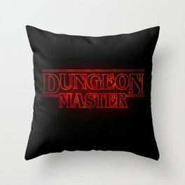 Stranger Dungeon Master Throw Pillow