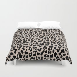 Tan Leopard Duvet Cover