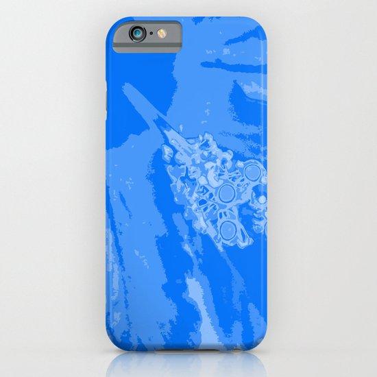 Intimate blue iPhone & iPod Case