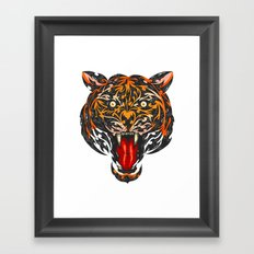 Hear Me Roar Framed Art Print