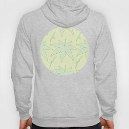 Japanese Maple Leaf and Seed Pattern Hoody