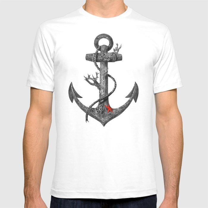 Lost at Sea - mono T-shirt