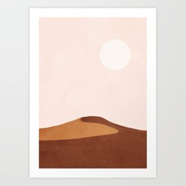 A Lonely Dune Art Print