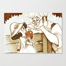 Applebloom Canvas Print