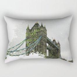 Tower Bridge in London Rectangular Pillow
