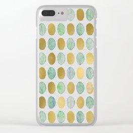 Gilded aquatics Clear iPhone Case