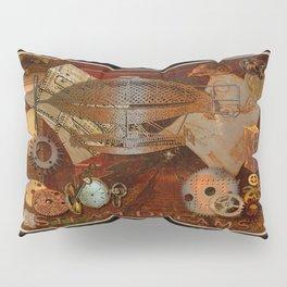 Steam Dreams - Steampunk Theme Pillow Sham