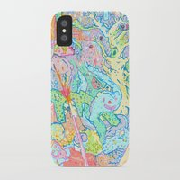 dragons iPhone & iPod Cases featuring Dragons by Nick Bright