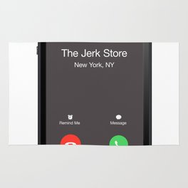 THE JERK STORE CALLED Rug