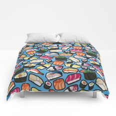 Sushi Blue Comforters