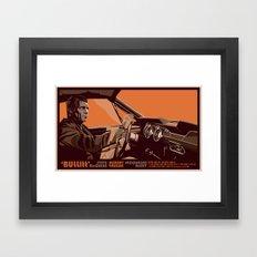BULLITT - 01 Framed Art Print