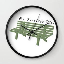 My Favorite Ride Wall Clock