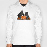 pumpkin Hoodies featuring pumpkin by omelet