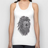 leo Tank Tops featuring LEO by silb_ck