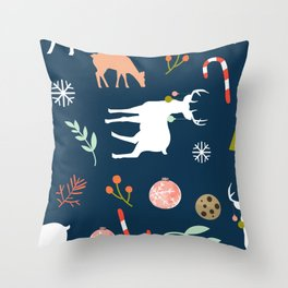 Christmas Spirit #society6 #decor #buyart Throw Pillow