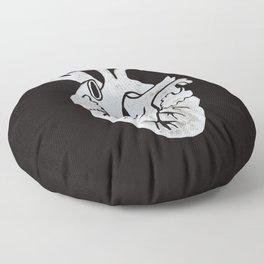 Anatomical Human Heart: Unusual Love Gift Floor Pillow