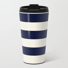 Stripes - Nautical Travel Mug