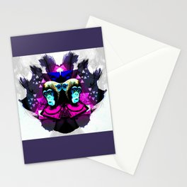 Crazy Apes Stationery Cards