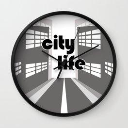 City Life - Urban Edition Wall Clock