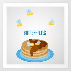 Butter-Flies Art Print