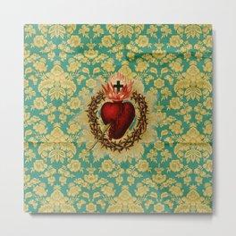 Sacred Heart LOVE Metal Print