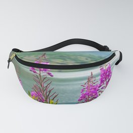 Summer Fireweed by the Lake Fanny Pack