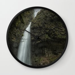 Upper Latourell Falls, No. 1 Wall Clock