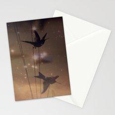 Hummingbird Galaxy Stationery Cards