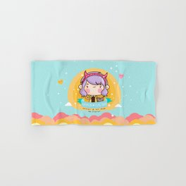Kawaii heaven Hand & Bath Towel