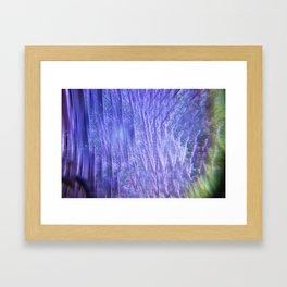 Kaleidoscope Trees Framed Art Print