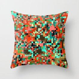 Pixelated 2 Throw Pillow