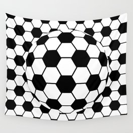 Black and White 3D Ball pattern deign Wall Tapestry