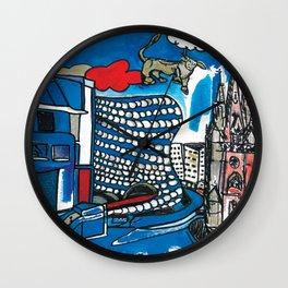 A depiction of Birmingham, UK Wall Clock