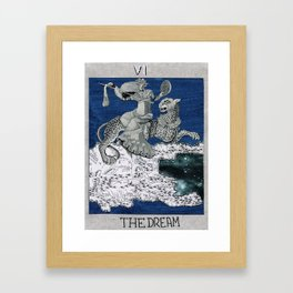 the dream. tarot cards Framed Art Print