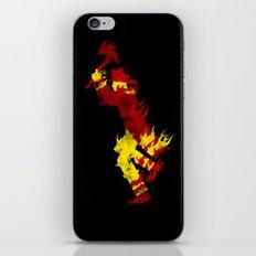 literal fireman iPhone & iPod Skin