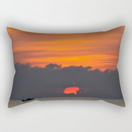 Vietnamese Sunset Rectangular Pillow